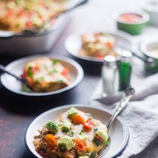 Chicken Enchilada Casserole with Cauliflower Recipe