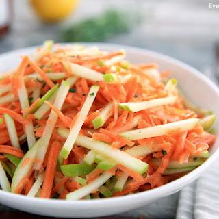 No-Mayo Carrot Apple Slaw