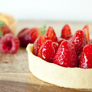 Citrus and Berry Tartlettes