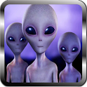 UFOs and hidden mysteries icon