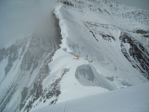 Photo: View of high camp 1