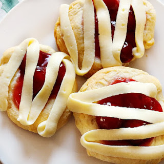 Easiest Cherry Cheesecake Danish