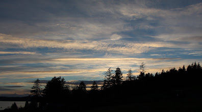 Photo: The sky was SPECTACULAR this evening.
