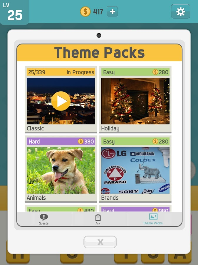 Pictoword: Word Guessing Games & Fun Word Trivia!- screenshot