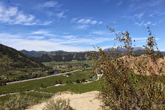 Photo: Stop 2 - View from cliff at Peshastin Pinnacles State Park