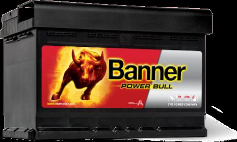 Startbatteri Banner PB12V/72Ah