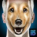 What are you dog face id scanner prank icon