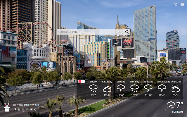 Las Vegas Strip New Tab, Wallpapers HD