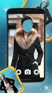 Winter Dress Photo Montage screenshot 4