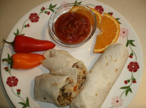 Breakfast Burrito (southwestern Style) Recipe