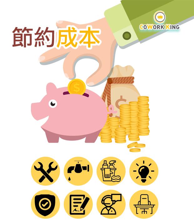 節約成本 創業 優點