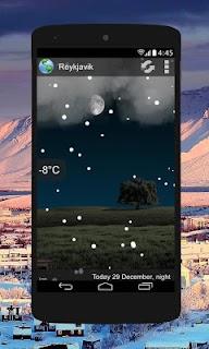 Animated Weather Widget, Clock screenshot 03