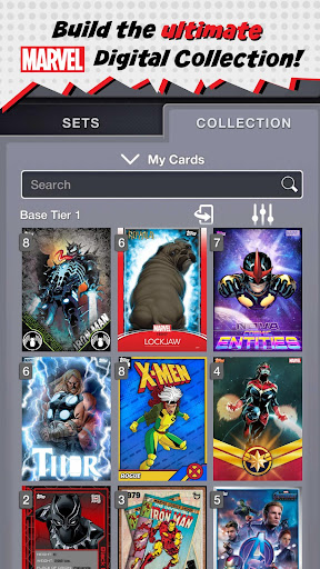 PC u7528 MARVEL Collect! by Toppsu00ae 2