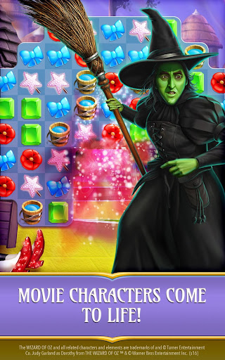 free wizard of oz magic match game