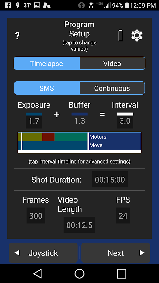 NMX Motion 3.0- screenshot