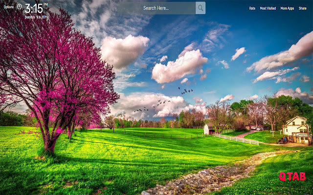 Spring Wallpapers HD Theme