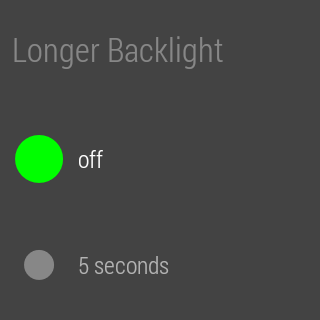Screenshot for StayLit Wear: Longer Backlight in United States Play Store