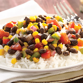 Baja Beans and Rice.
