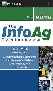 2016 InfoAg Conference App- screenshot thumbnail