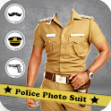 Men Police Suit Photo Editor 2019 - Police Dress icon
