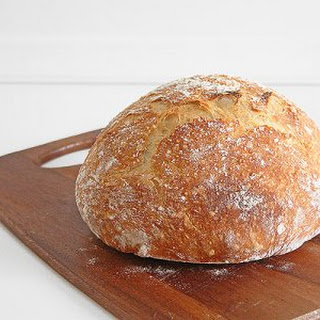 Crusty, Rustic, No Knead Bread (Aka the Easiest Bread You'Ll Ever Make) Recipe