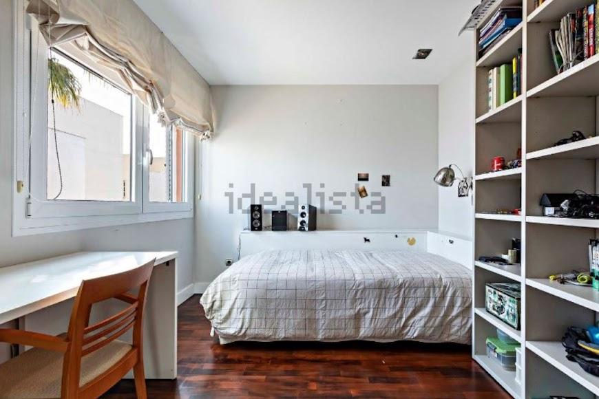 Una de las habitaciones de la casa familiar de Ana Soria. Foto de Idealista.com