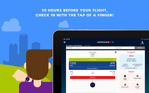 Air France - Airline tickets screenshot 14