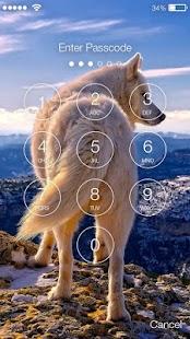 Husky Syberian Dog Screen Lock - náhled