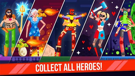 Télécharger Ragdoll Rage: Heroes Arena Brawl apk mod screenshots 5