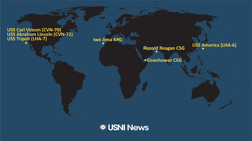 USNI News Fleet and Marine Tracker: July 8, 2021