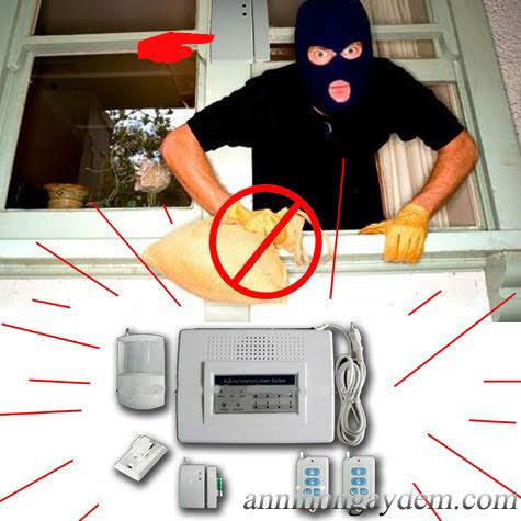 thiết bị chống trộm gia đình