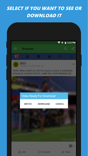 Video Downloader for facebook 2.2 screenshots 3