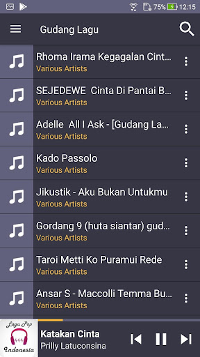Gudang Lagu Mp3 Gratis 1.0.1 screenshots 7