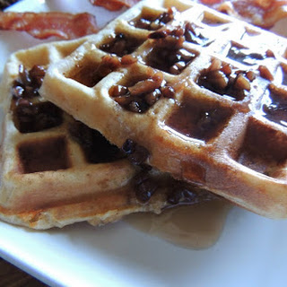Bacon & Smoked Gouda Buttermilk Waffles.