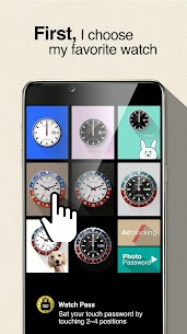 Watch password – Easy & strong Touch lock screen apk download 5