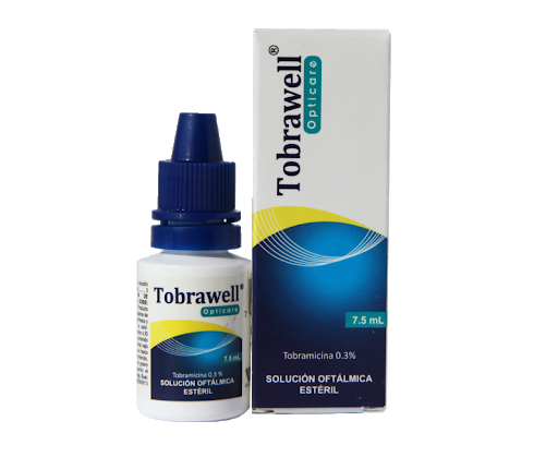 Tobramicina Tobrawell 0,3% Solucion Oftalmica 7.5 mL