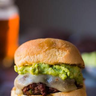Jalapeno Beef and Chorizo Burger.