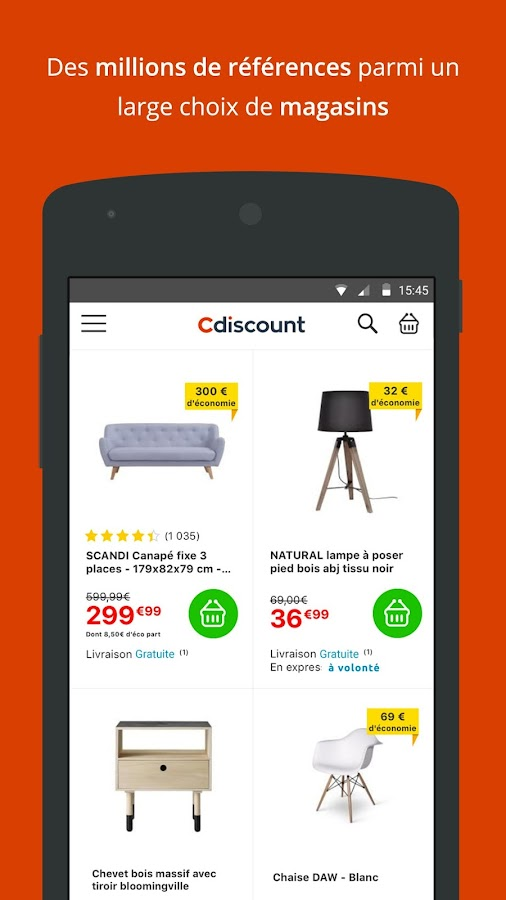 Cdiscount - Shopping mobile- screenshot