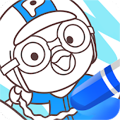 Pororo SketchBook Game - Painting, Color
