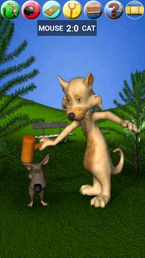 Talking Cat Vs. Mouse Screenshot