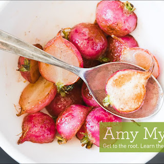 Roasted Radishes with Herbed Dressing Recipe