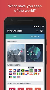 Polarsteps - Travel Tracker- screenshot thumbnail