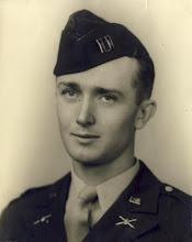 Photo: Gordon in his captain's uniform.