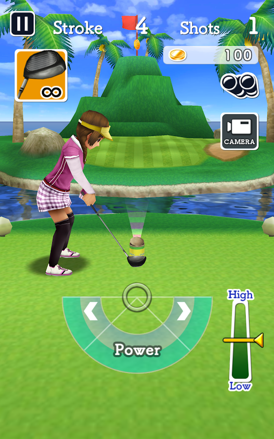 Jumble Golf : 150 Game Courses- screenshot