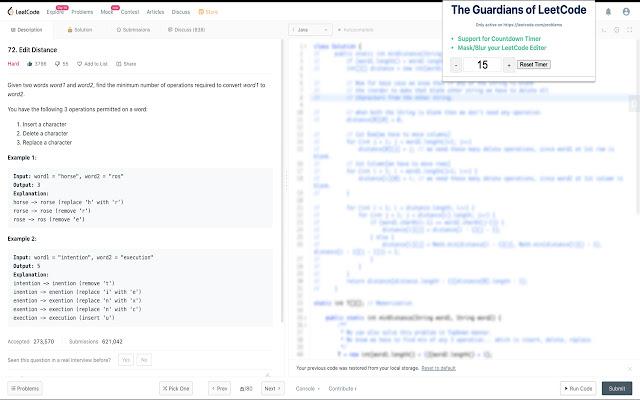 LeetCode Guardians