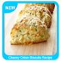 Cheesy Onion Biscuits Recipe APK icon