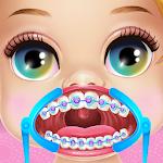 Baby Princess Dentist Brackets Icon
