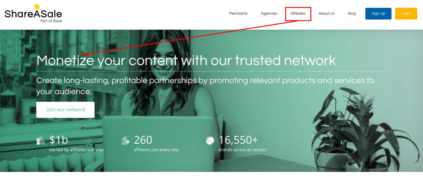 affiliate marketing monetization