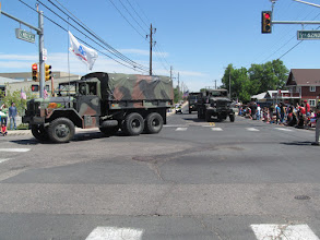 Photo: Lots of Military vehicles