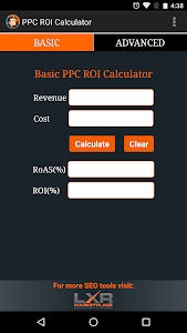PPC ROI Calculator screenshot 0